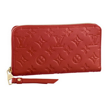 Louis Vuitton M60297 Monogram Empreinte Secrete Long Wallet Orient
