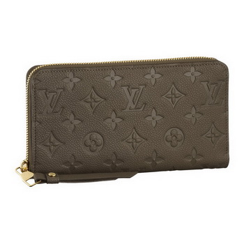 Louis Vuitton M93436 Monogram Empreinte Secrete Long Wallet Ombre
