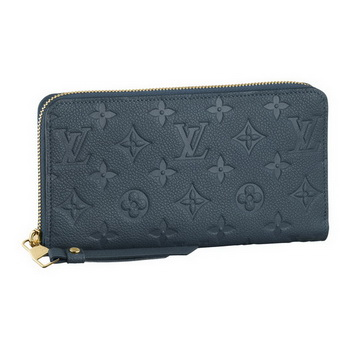 Louis Vuitton M93438 Monogram Empreinte Secrete Long Wallet Orage