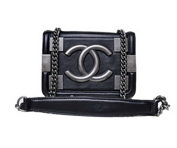 313d2c0f3405 2013 Nestest Chanel Shoulder Bag Lambskin Leather A67088 Black