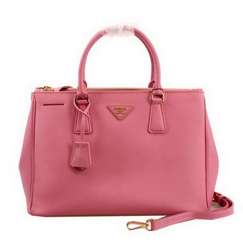 Prada Saffiano Leather 33CM Tote Bag BN2274 Pink