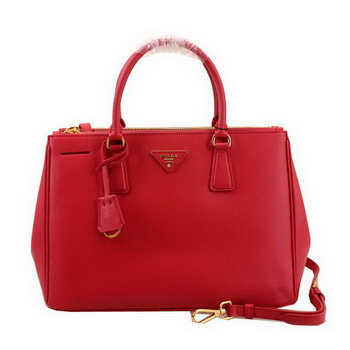 Prada Saffiano Leather 33CM Tote Bag BN2274 Red