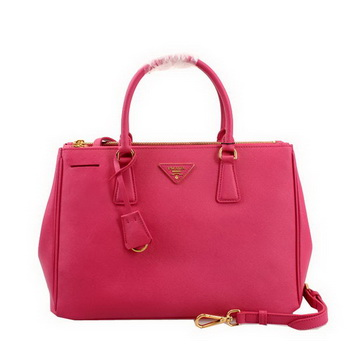 Prada Saffiano Leather 33CM Tote Bag BN2274 Rose