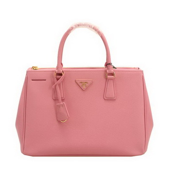 Prada BN2274 Pink Saffiano Leather 33CM Tote Bag