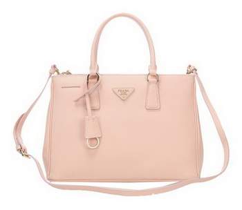 Prada 33CM Saffiano Leather Tote Bag BN2274 Light Pink
