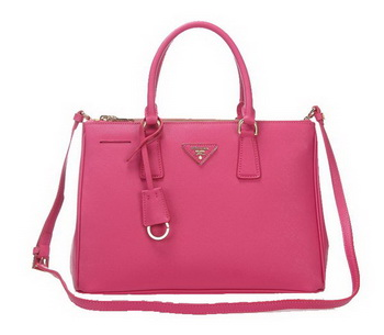 Prada 33CM Saffiano Leather Tote Bag BN2274 Peach