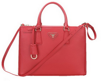 Prada 33CM Saffiano Leather Tote Bag BN2274 Red