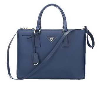 Prada 33CM Saffiano Leather Tote Bag BN2274 Royal