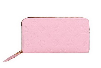 Louis Vuitton Monogram Empreinte Zippy Wallet M60017 Pink