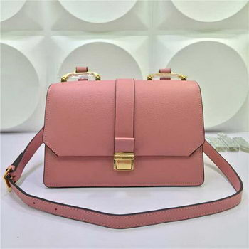 miu miu Madras Goat Leather Shoulder Bag RT0609 Pink