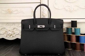 Hermes Birkin 35CM 30CM Tote Bag Original Leather HB35O Black 664e937325d3b