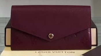 Louis Vuitton Monogram Empreinte Josephine Wallet M61003 Purple