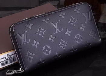 Louis Vuitton Monogram Empreinte Zippy Wallets M60017 Black