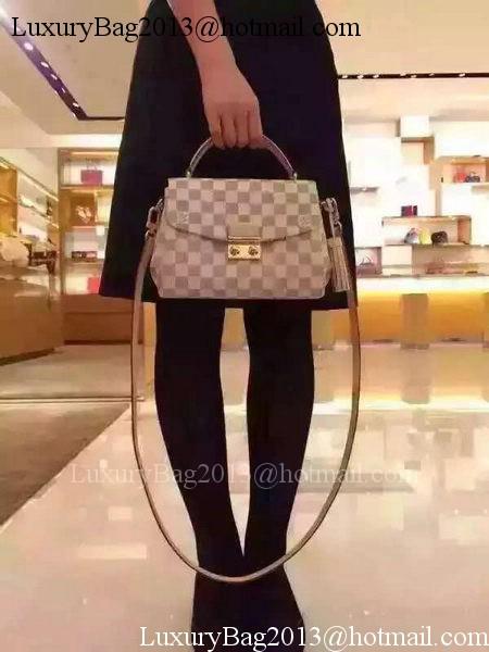 Louis Vuitton N41581 Damier Azur Canvas CROISETTE Bag ff4f84068e3c9