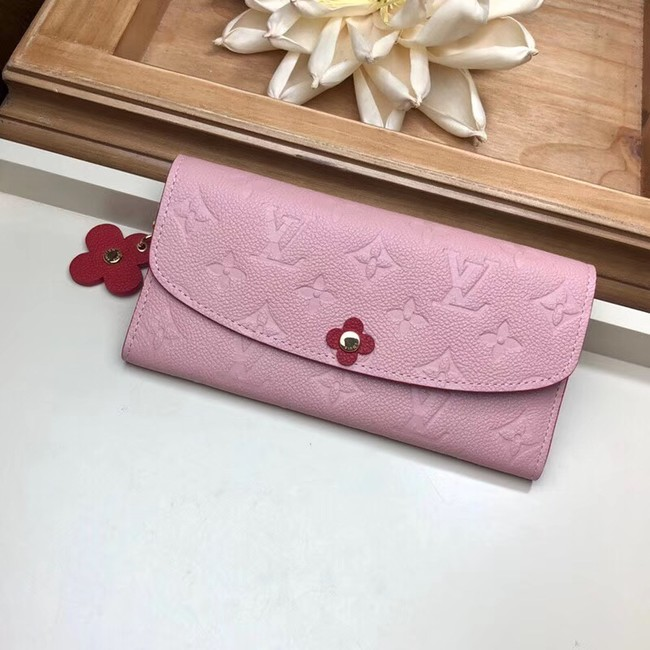 Louis Vuitton EMILIE WALLET M63918 Rose Ballerine