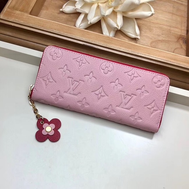 Louis vuitton CLEMENCE WALLET M63920 Pink