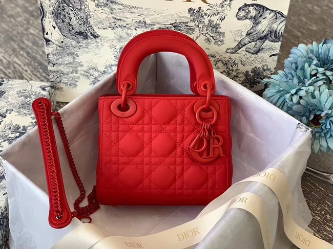Dior ULTRAMATTE LADY DIOR-TAS M0505O red