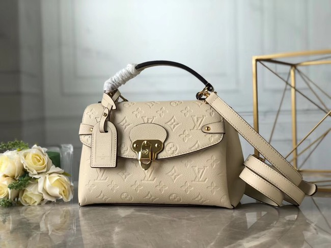 Louis Vuitton Monogram Empreinte Bag M53941 Cream