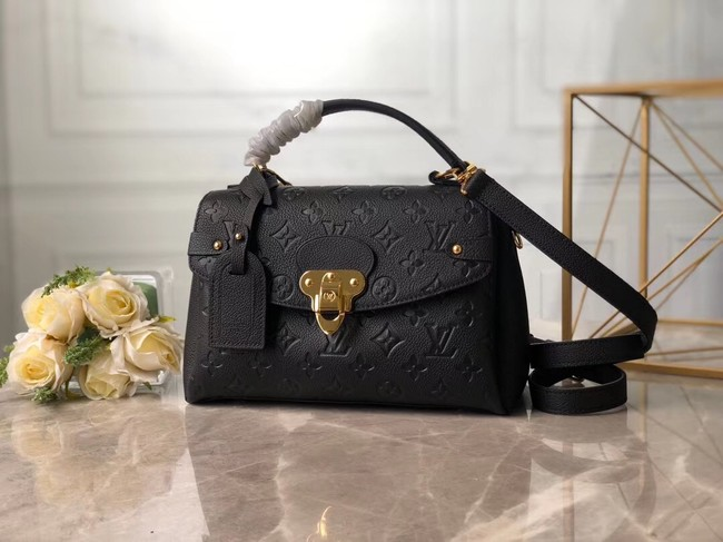 Louis Vuitton Monogram Empreinte Bag M53941 black