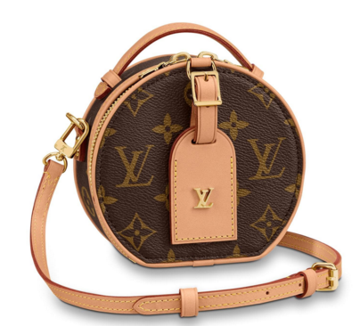 Louis vuitton original Monogram Canvas MINI BOITE CHAPEAU M44699