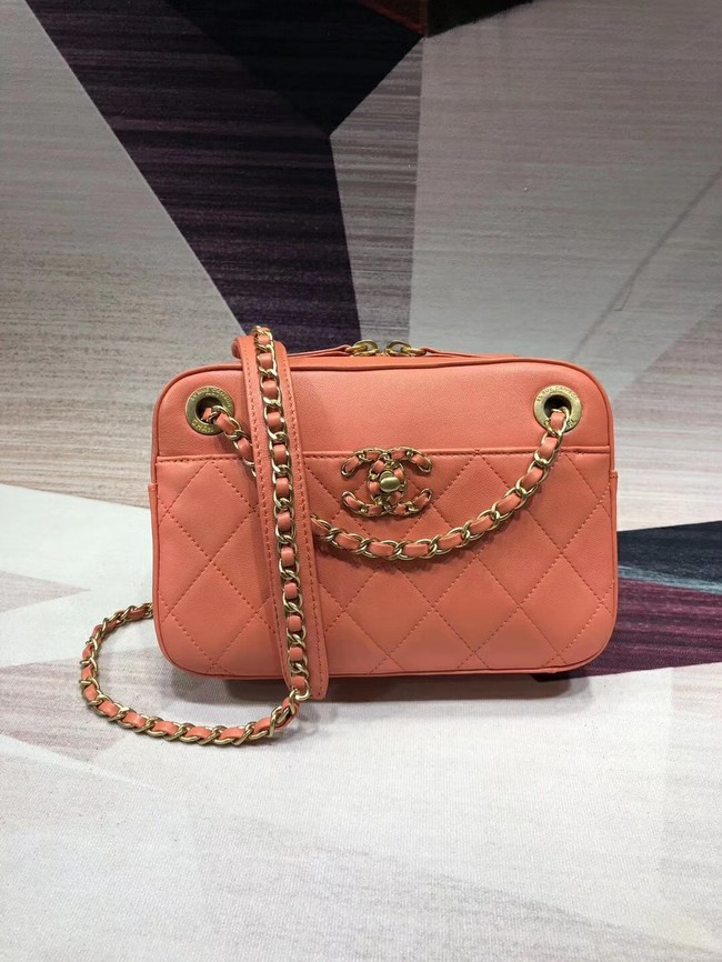 Chanel Original Leather Bag 9235 Pink