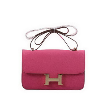 Hermes Constance Bag Togo Leather 1622L Plum Golden