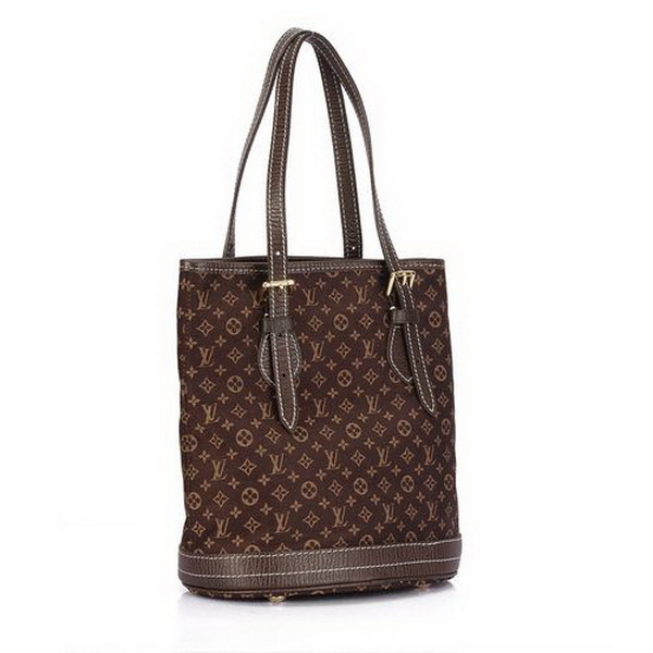 Louis Vuitton Monogram Mini Lin Bucket PM M95226